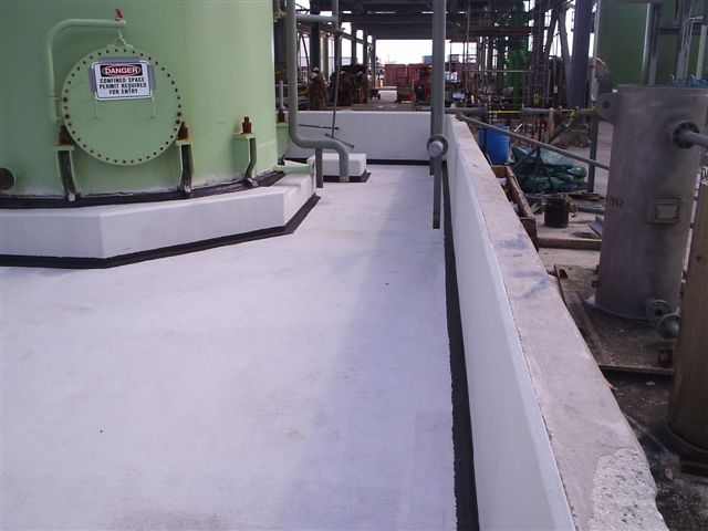 Protect your concrete floor with oue chemical resistant floor coating