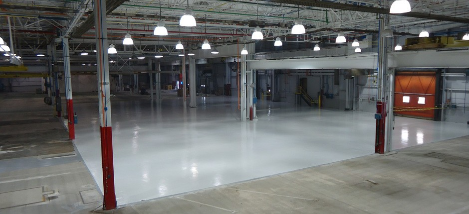 protect your floor with a heavy duty floor coating